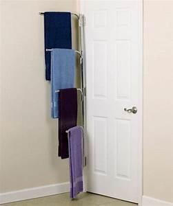 Le porte serviette en 40 photos d39idees pour votre salle for Porte serviette salle de bain design
