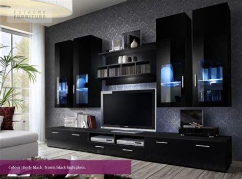 details about wonderful living room suite tv units