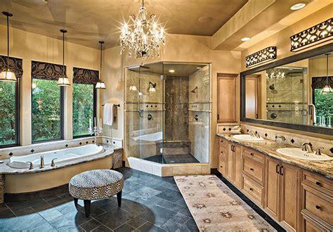 rustic colonial bathroom  master bath oasis light    bella figura venetian