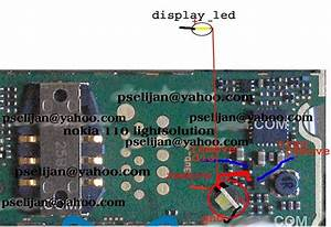 Nokia 110 Lcd And Keypad Light Solution