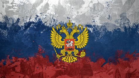 Russia eagles flags emblems Russian Federation Russian ...