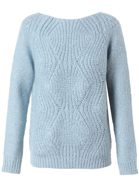 winter knit sweater surface to air mohair wool ribbed sweater knitwear