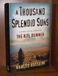 a thousand splendid suns and the kite runner comparison