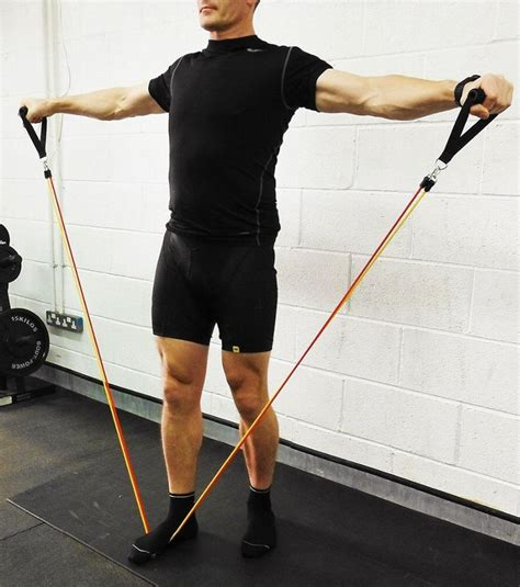 lbs  pcsset resistance band gym workout body building mustle strength training exercise
