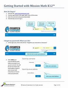 Mission Math K12 Users Guide Cover  U2014 Cosenza  U0026 Associates  Llc