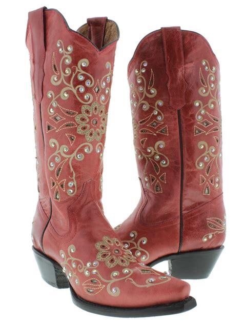 rhinestone cowgirl boots