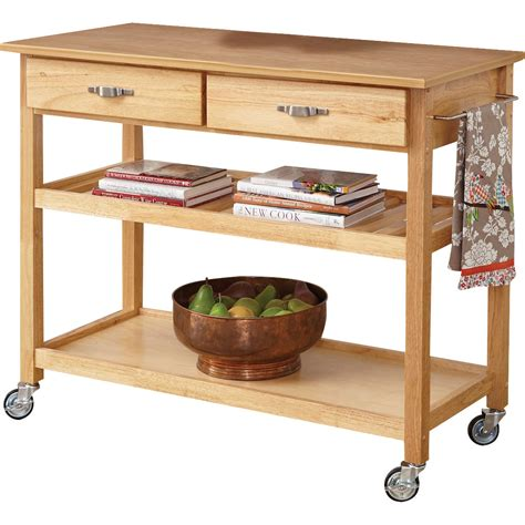 kitchen island with wood top home styles kitchen island with wood top reviews wayfair