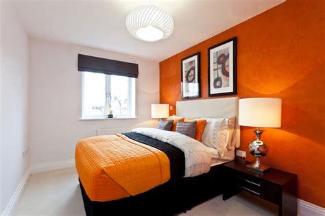 orange feature wall design ideas  inspiration