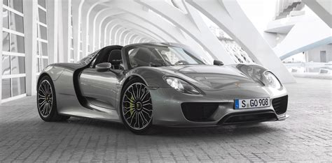 Fully Electric Cars by Porsche Says No To Fully Electric Cars At Least For The