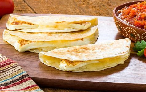 Two Cheese Quesadillas - V&V Supremo Foods, Inc.