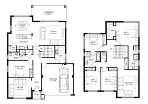 2 storey house plans 2 storey 5 bedroom house plans house floor plans