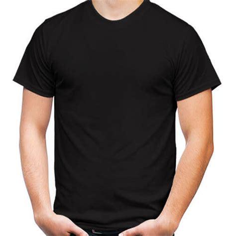 kaos polos premium hitam bajuaku jual baju anak