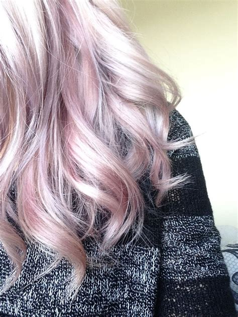 Lavender And Pastel Peachy Pink Wella Instamatic