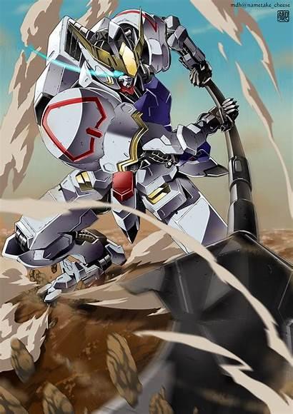 Gundam Barbatos Mobile Wallpapers Iron Lupus Rex