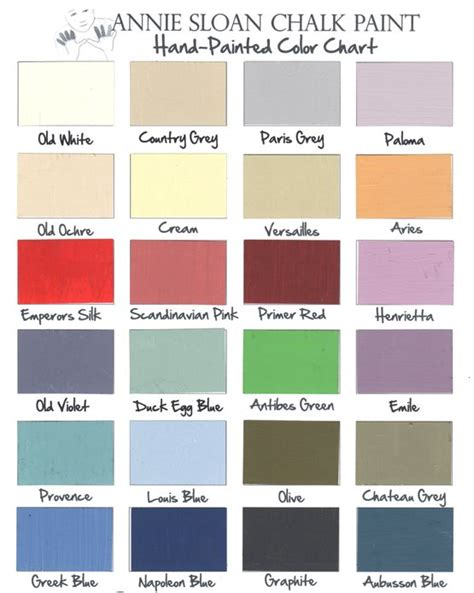 paint colours for furniture 91 best chalk paint color palettes images on color palettes paint colors and