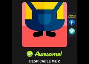 Despicable Me 2 Icon Pop Quiz Answers Icon Pop Quiz Cheats