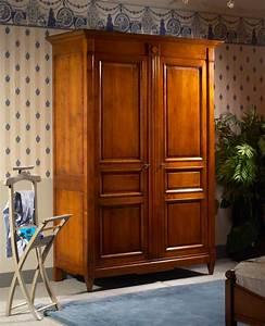 Armoire Deux Portes : meubles richelieu armoire 2 portes de style directoire ~ Teatrodelosmanantiales.com Idées de Décoration