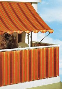 angerer freizeitmobel klemmmarkise orange braun With markise balkon mit tapete orange weiß