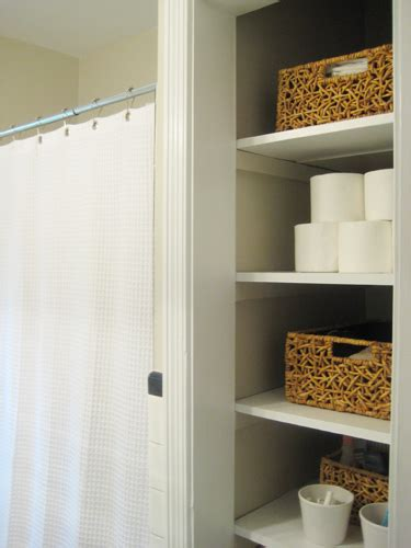 door   bathroom linen closet   chic