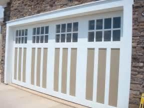 AZEK Trim Garage Door