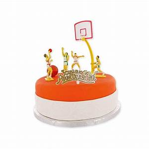 Décoration De Gateau : kit d cor g teau basket ball cerf dellier ~ Melissatoandfro.com Idées de Décoration