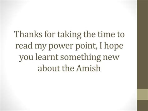 ppt amish powerpoint presentation id 2536288