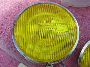 Fs  Cibie 45 Iode Yellow Fog Lights   Covers Racing Team