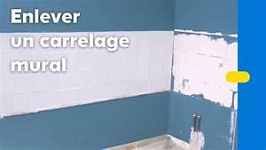 Comment Recouvrir Du Carrelage Mural : comment enlever du carrelage mural castorama youtube ~ Melissatoandfro.com Idées de Décoration