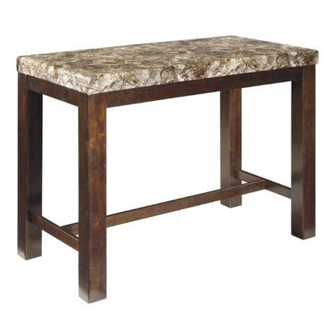 rectangular bar height table ashley kraleene rectangular counter height dining table in