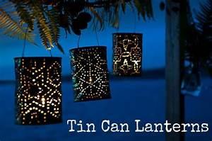 DIY Tutorial: Tin Can Lanterns Boho Weddings For the
