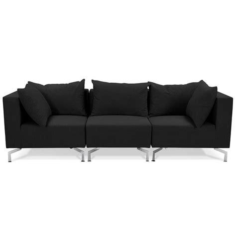 canape voltaire canapé modulable voltaire noir canapé design