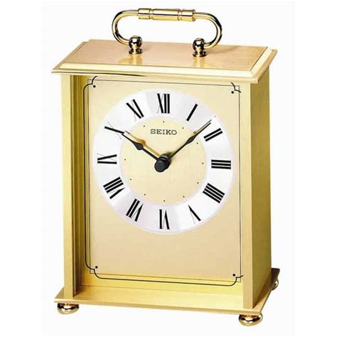 bulova desk clock price seiko qhg102gl carriage clock the clock depot