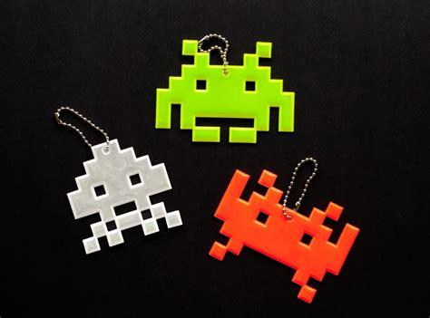 space invaders reflective charm gadgetsin