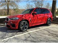 BMW X5 M F15 in seltenem Melbourne Rot tuningblogeu