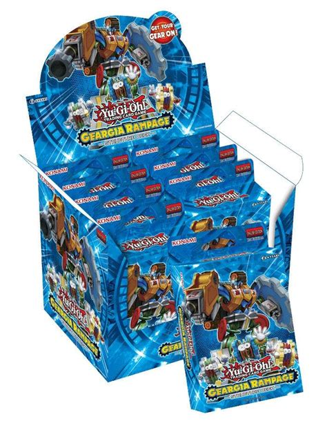 Yugioh Geargia Deck Build by Konami Yu Gi Oh Geargia Rage Structure Deck Box Ebay
