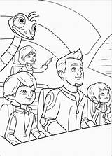 Miles Tomorrowland Coloring Pages Colouring Disney Del Dibujos Para Colorear Futuro Printable Junior Callisto Personajes Dibujo Cartoon Loretta Colorings Guardado sketch template