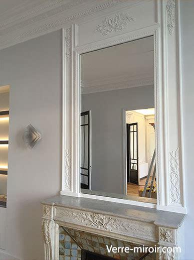 miroir de cheminée miroir pour chemin 233 e