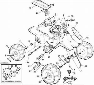 Power Wheels Lil Coyote Parts