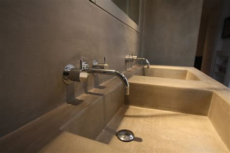 salle de bain 233 vier mortex mortex tadelakt decoration