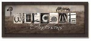 country western horse letter art personalized art that With horse letter art