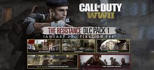 Call of Duty: WWII - The Resistance - Trailer, data d ...