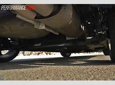 2013 Ford Fiesta ST torsion beam rear suspension