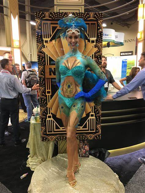Best Body Painting Convention Talent Painter Artists in Las Vegas