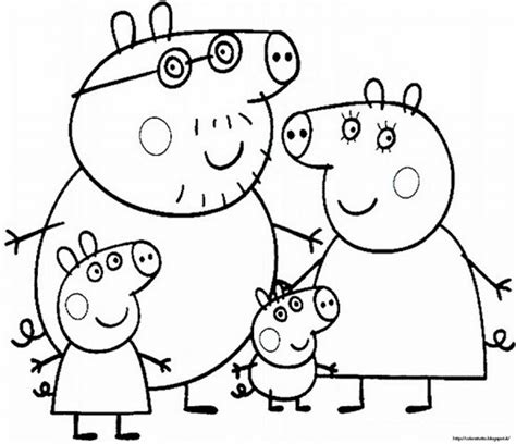 Coloring Peppa Pig by Get This Free Peppa Pig Coloring Pages To Print 83895