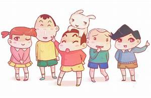 Crayon Shin Chan and Friends family cute wallpapers 4K ...