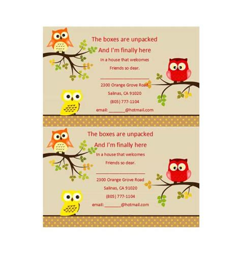 housewarming cards to print 40 free printable housewarming party invitation templates