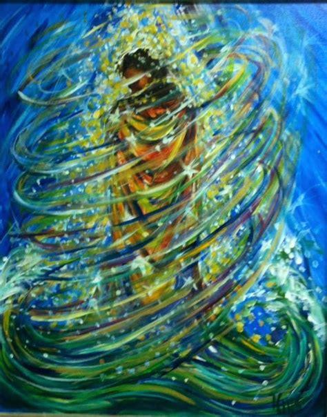 blue debut prophetic art