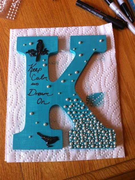 diy wall letters images  pinterest decorated letters cartonnage  child room