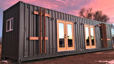 Container Home Design Ideas by Container House Modern Sleek Gorgeous Kitchen And Bath