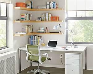 1000 idees sur le theme etageres d39angle sur pinterest With meuble bibliotheque bureau integre 0 le bureau avec etagare designs creatifs archzine fr